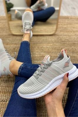 Adidas Jogger Gri Beyaz