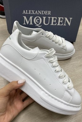 Alexander McQueen Ful Beyaz - Unisex
