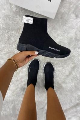 Balenciaga Çorap Ful Siyah - Unisex