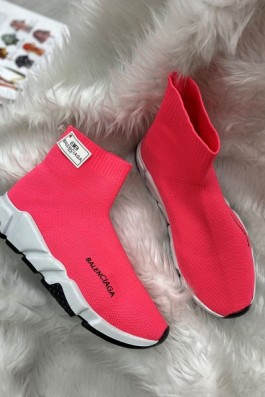 Balenciaga Çorap Kırmızı - Unisex