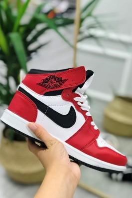 Nike Air Jordan Beyaz Kırmızı Siyah