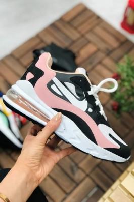 Nike Air React Beyaz Siyah Pudra