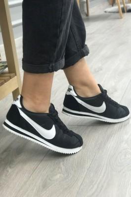 Nike Cortez Eva Taban Siyah Beyaz - Unisex