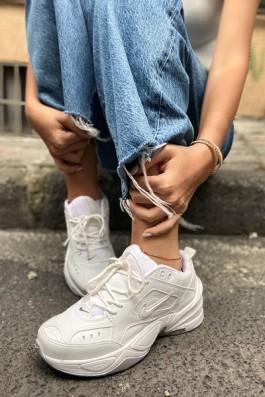 Nike Tekno Ful Beyaz - Unisex