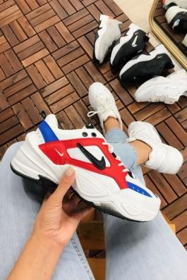 Nike Tekno Mavi Kırmızı - Unisex
