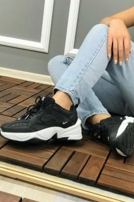 Nike Tekno Siyah Beyaz - Unisex