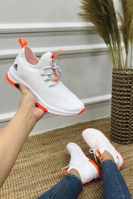 Adidas Neo Run Beyaz Turuncu - Unisex
