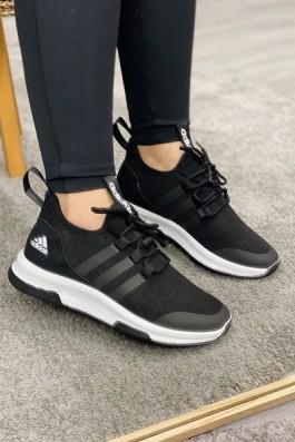 Adidas Neo Run Siyah Beyaz