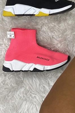 Balenciaga Çorap Kırmızı