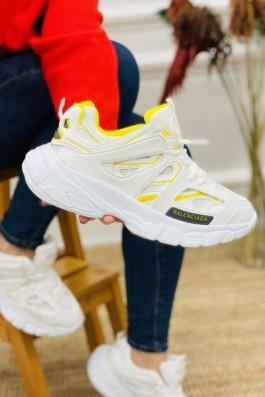 Balenciaga Track Beyaz Sarı