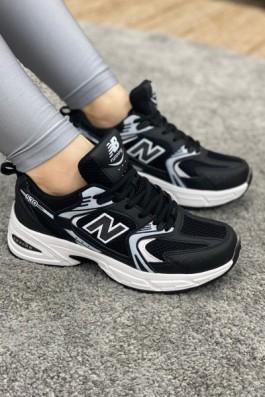 New Balance 530 Siyah Beyaz