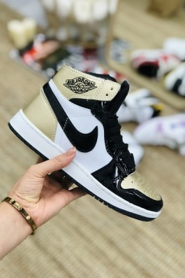 Nike Air Jordan Beyaz Siyah Rugan