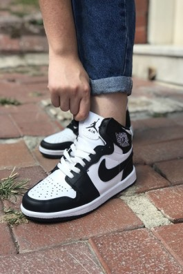 Nike Air Jordan Beyaz Siyah - Unisex