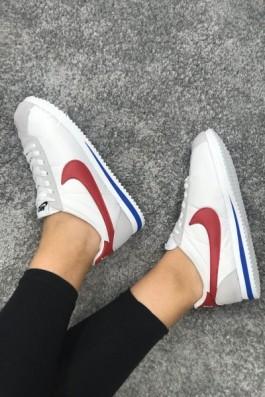 Nike Cortez Eva Taban Beyaz Kırmızı Mavi