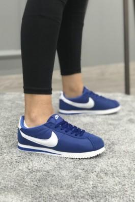 Nike Cortez Eva Taban Mavi Beyaz