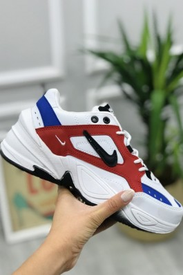 Nike Tekno Mavi Kırmızı