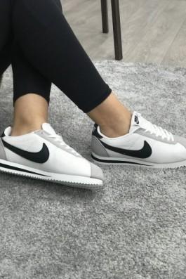 Nike Cortez Eva Taban Beyaz Siyah - Unisex