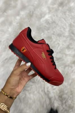 Puma Ferrari Kırmızı Siyah - Unisex