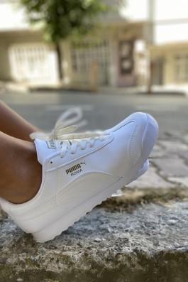 Puma Roma Ful Beyaz