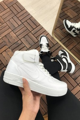Nike Airforce Ful Beyaz - Unisex